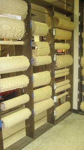 Pre Woven Cane Rattan Mattting For Chair Repair Cabinet Doors